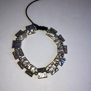 Treska GMan Unisex Hammered bracelet